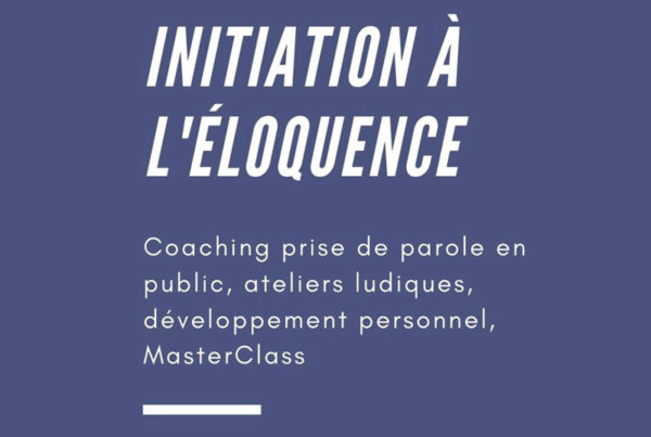 Initiation à l'éloquence